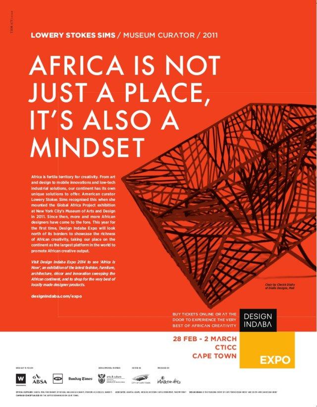 Design Indaba 2014 poster