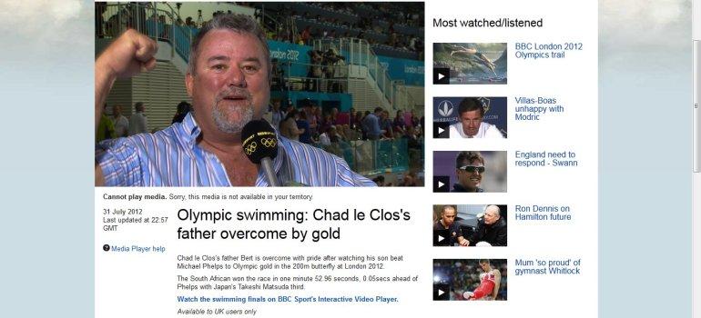le clos farther bbc interview