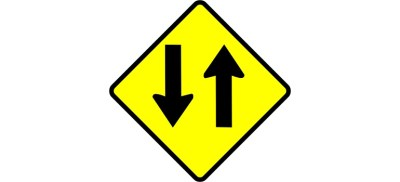 two way traffic road street sign courtesy of Pixabay