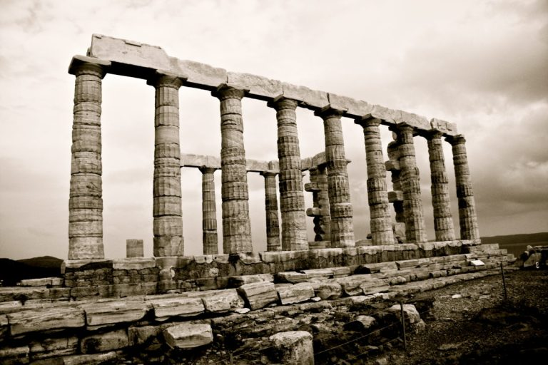 Pursuing Byron at The Temple of Poseidon, Cape Sounion