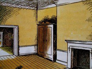 Pauline Baynes Narnia - the Wardrobe