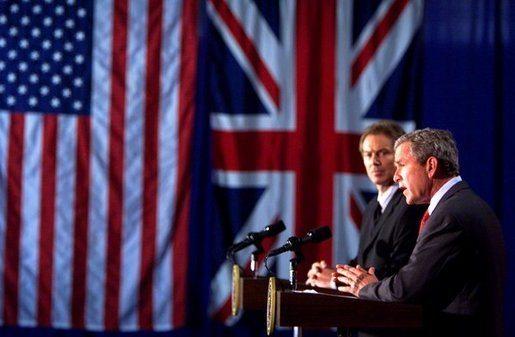 Bush and Blair Iraq