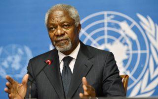 Wisdom from the Palaver Tree: Kofi Annan's impossible job cajoling the world