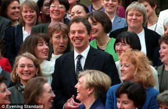 Blair & Women MPs 1997