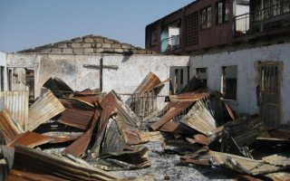 What to say when they burn down your house and church