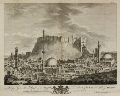 aleppo old town print