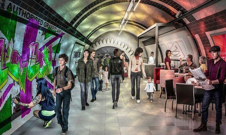 bicycle-pedestrian-tunnels-underline-gensler-london-6