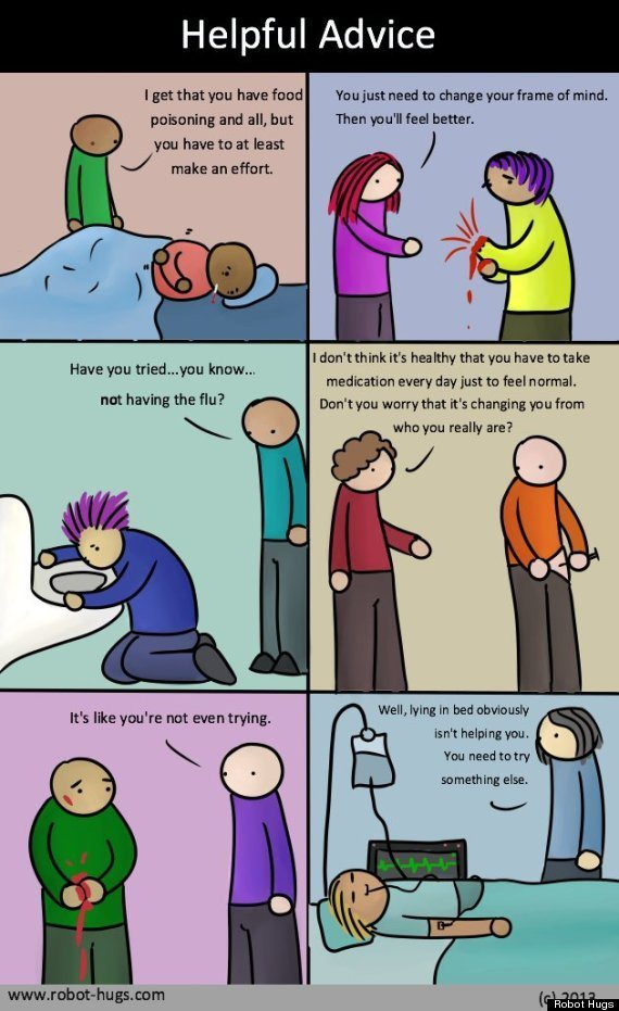 Depression - helpful advice