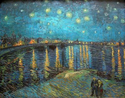 Van Gogh - Starry night over the Rhone (1888) - Musee D'Orsay