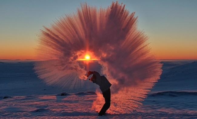 Michael H Davies - Spraying Tea at -40.png