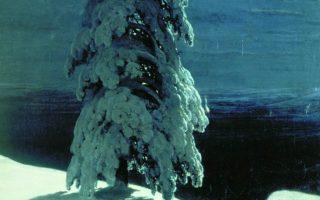 Q Combinations 18: Shishkin's Wild North and Rossetti's Christmas Eve