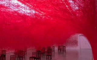 Chiharu Shiota's The Distance and the consequences of connection