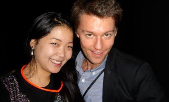 Jane Kim and Friend