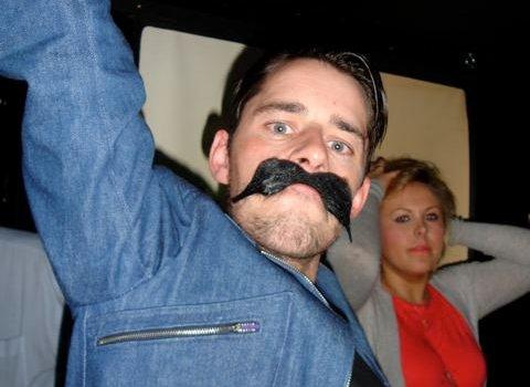 Moustache at Dare