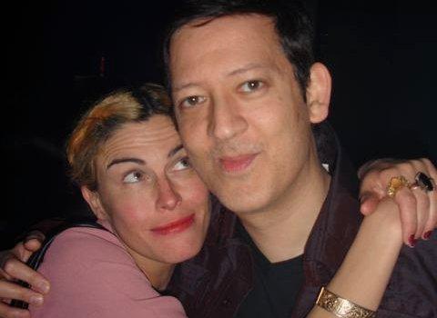 Tabitha Denholm and Mark Moore