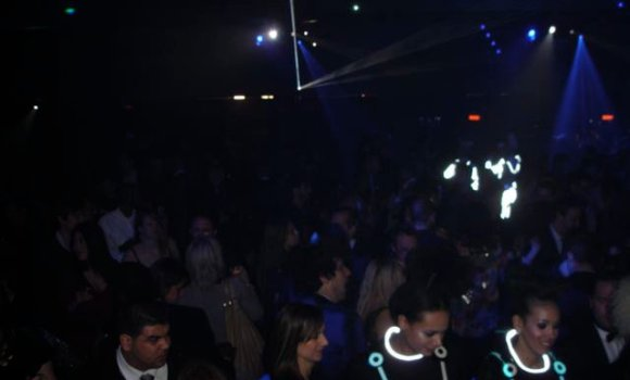 Tron Party Packed House