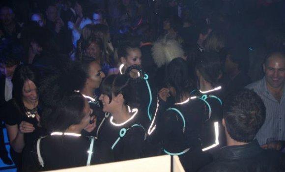 Tron Premiere Party Central