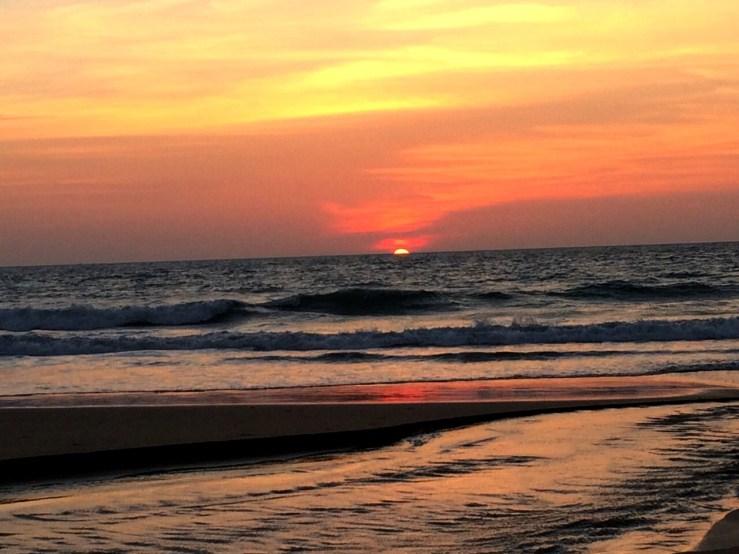 Tarakalli sun set