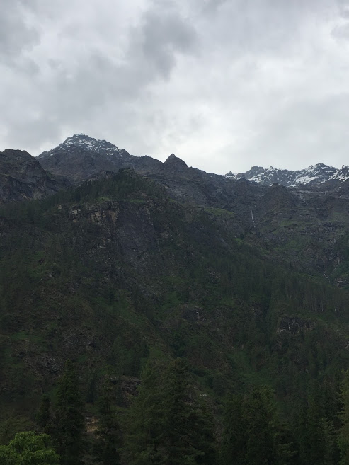 View from Kheerganga