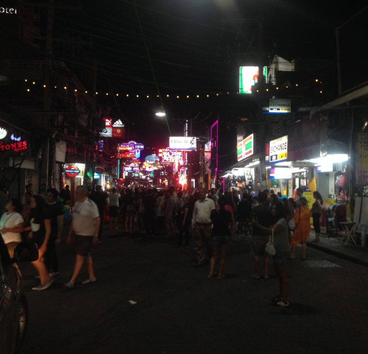 The walking street