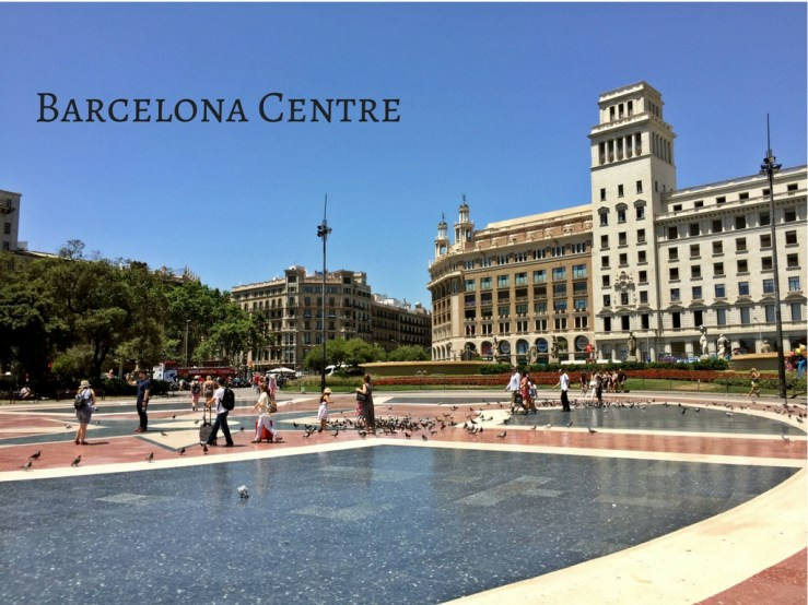 Barcelona Centre Mark My Adventure