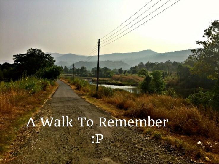 A Walk Mark My Adventure
