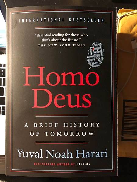 Homo Deus Mark My Adventure