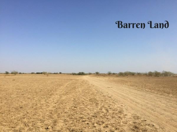 Barren Land Mark My Adventure