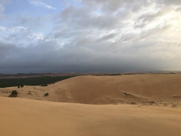 Red Sand Dunes Mark My Adventure