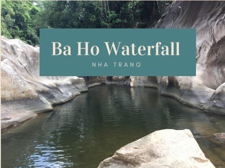 Ba Ho Waterfall Nha Trang