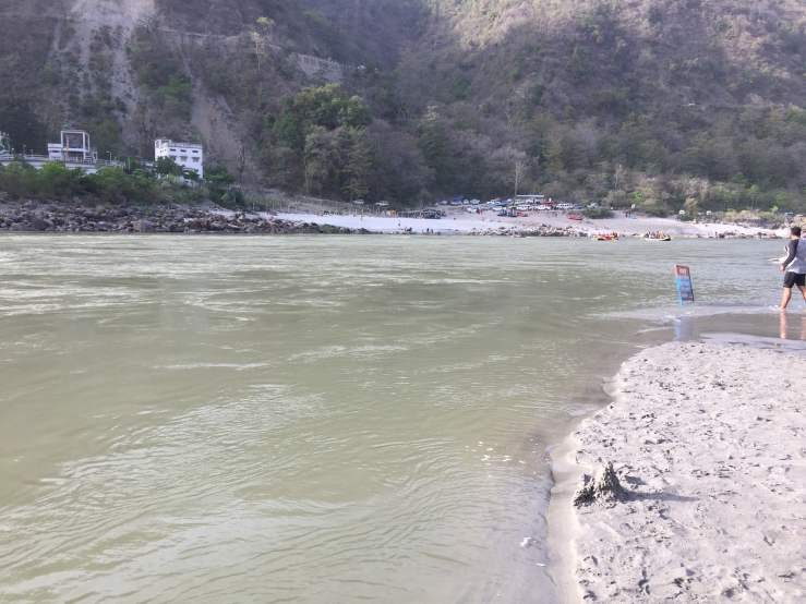Ganga River Rishikesh Mark My Adventure