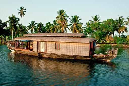 House Boat Kerala India