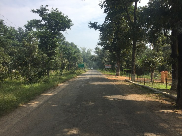 Mandla Kanha National Park Main Road