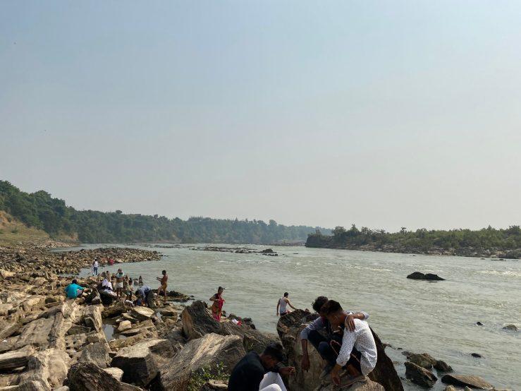 Narmada River Bhedhaghat