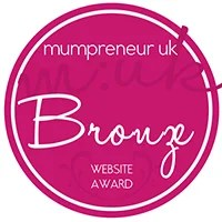 mumpreneur bronze website award
