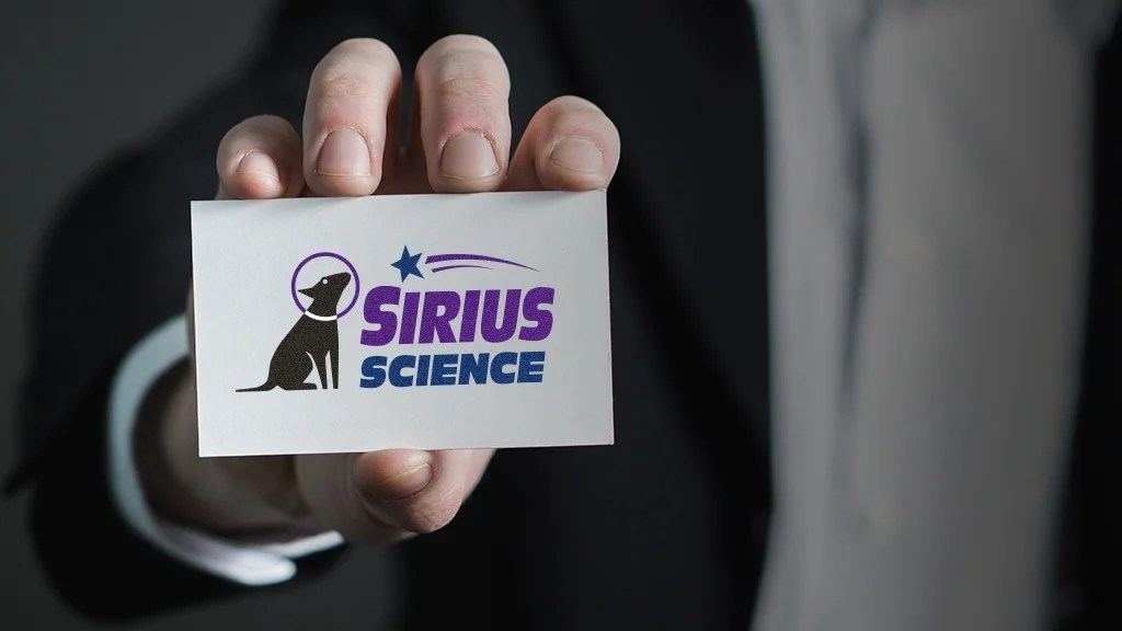 sirius science biz card