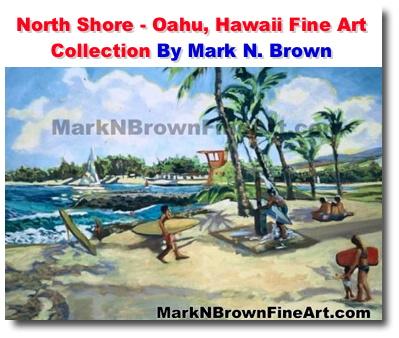 North Shore Oahu Hawaii Fine Art Collection Plein Air