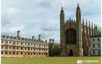 King's College Cambridge – Caroline & Kenan