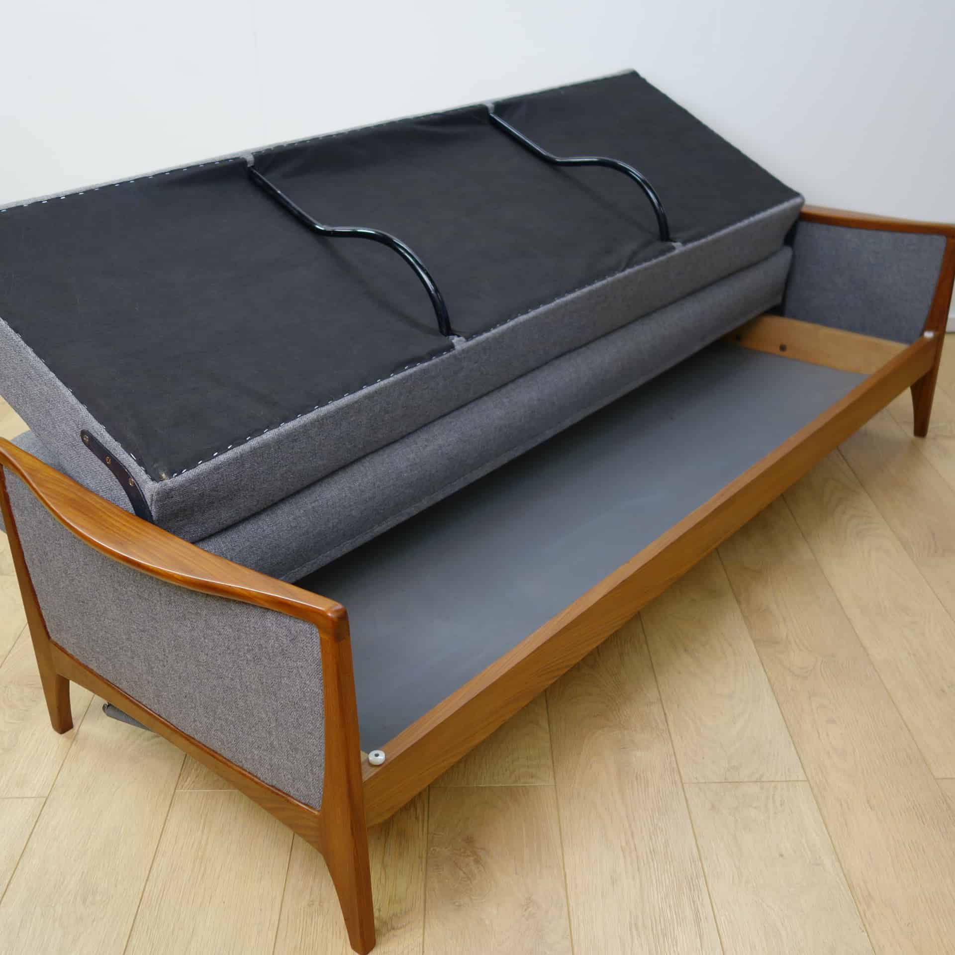 g plan sofa 66 ashley furniture leather reclining 1960s teak sofabed by mark parrish mid century modern