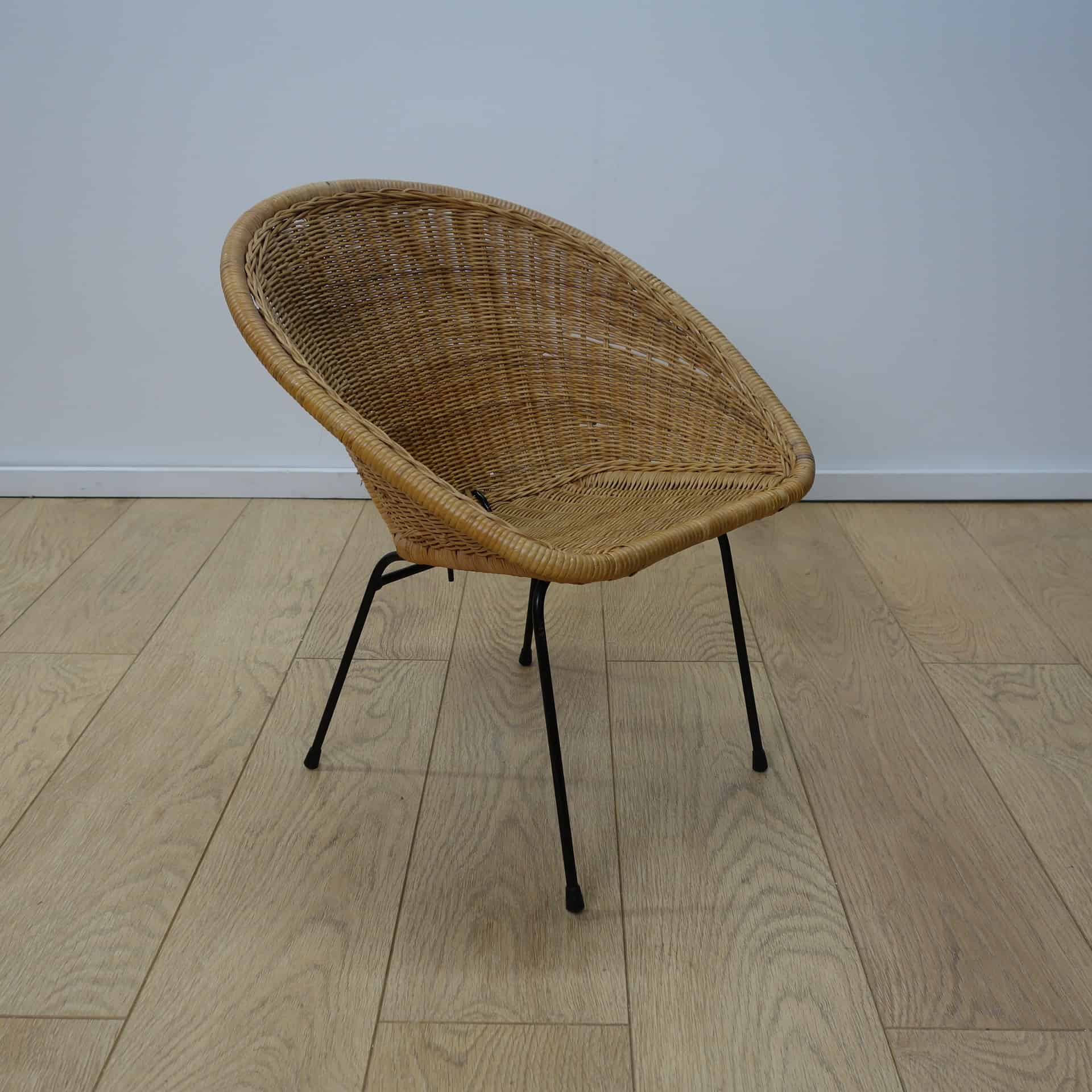 old wicker chairs uk office without arms 1960s childs chair mark parrish mid century modern