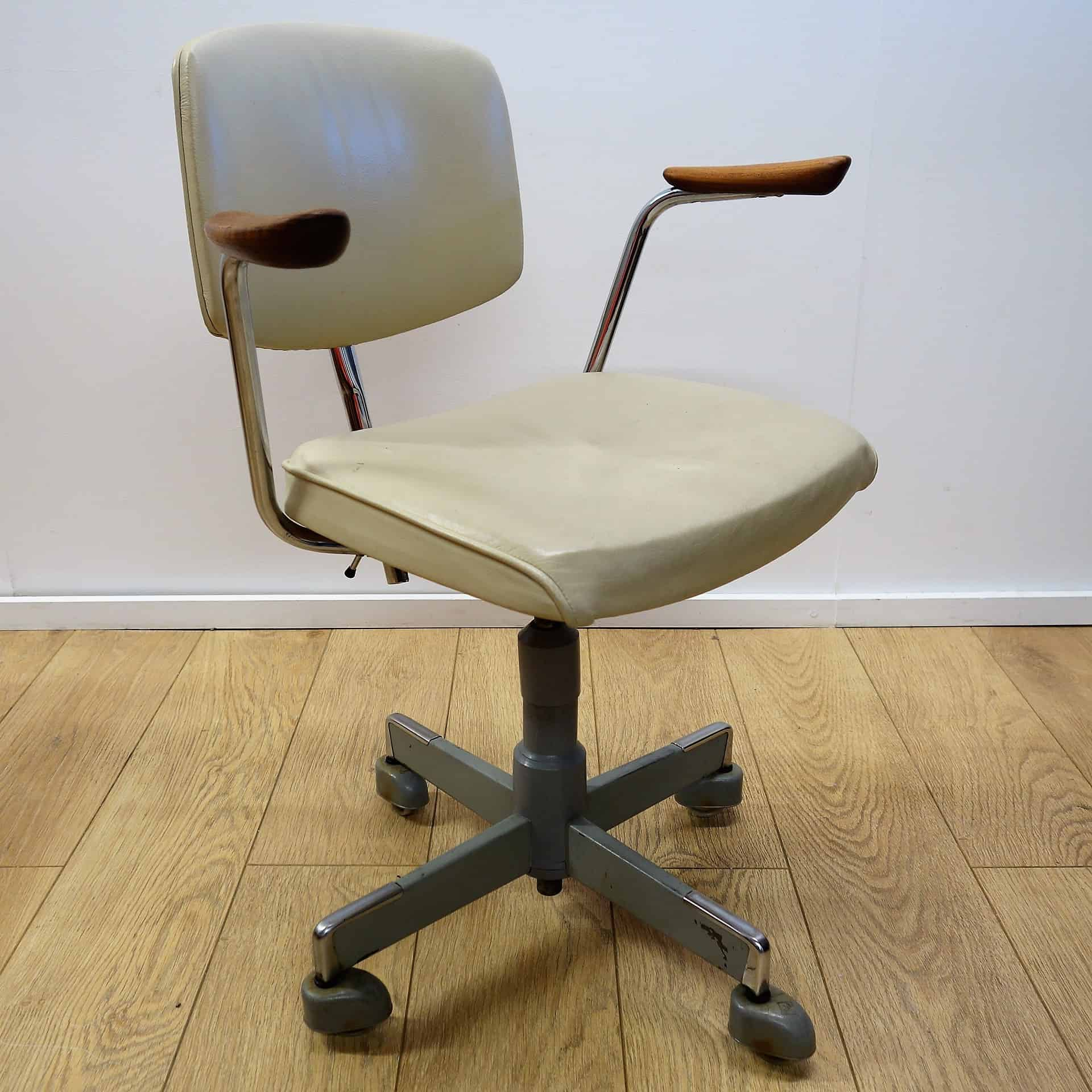 ergonomic chair norway arm cover patterns 1960s leather office by hag mark parrish