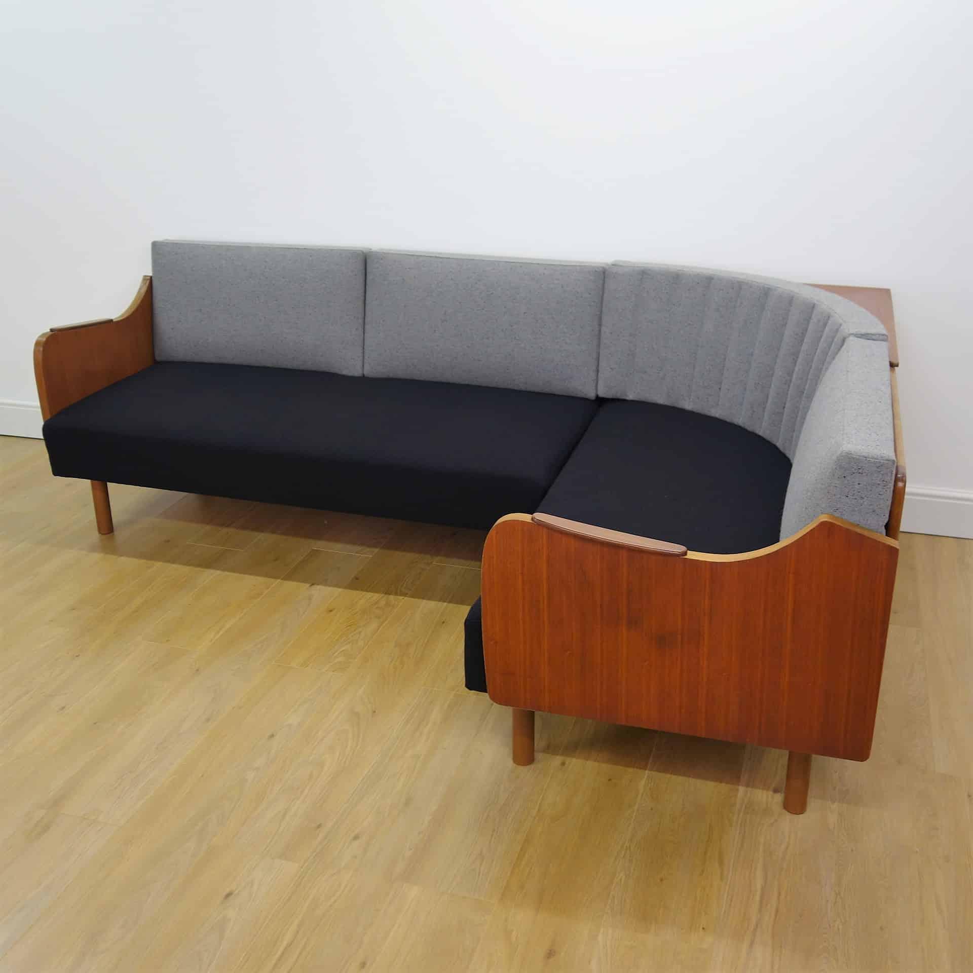 danish style sofa bed uk jual inoac tangerang 1960s teak corner day mark parrish mid