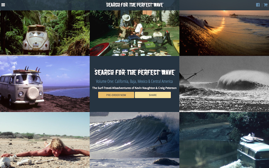 Search for the Perfect Wave | A Surf Travel Book