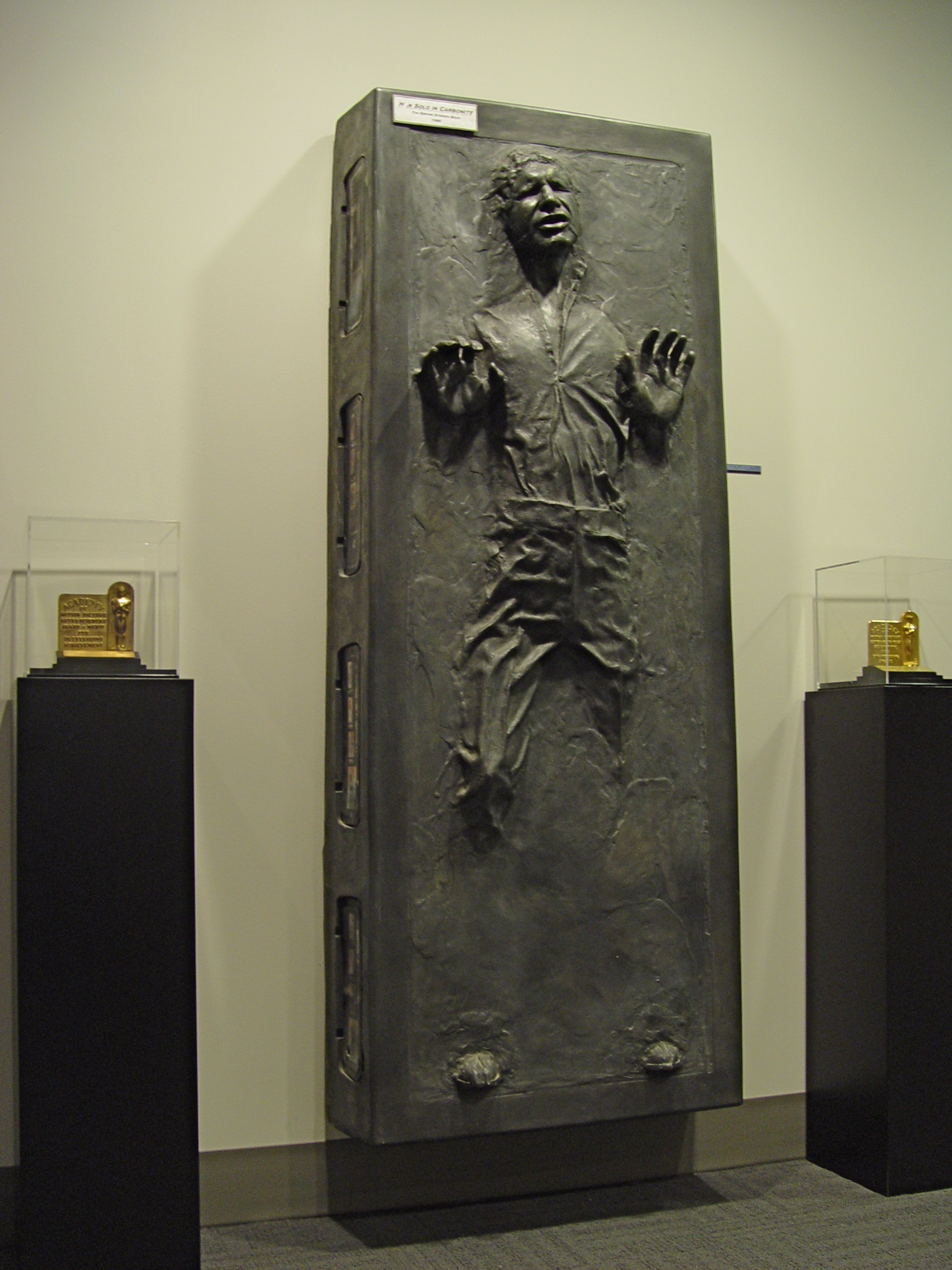 Is There A 11 Print Out Of Han Solo In Carbonite