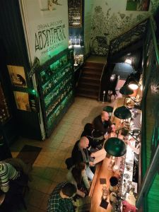 Visiting Prague - The Absintherie