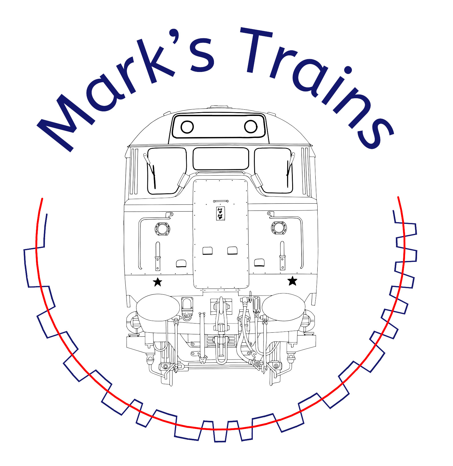 hight resolution of mark s trains