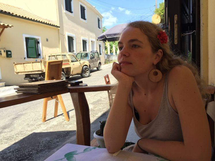 Ella in central western Corfu