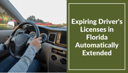 Expiring Driver's Licenses in Florida Automatically Extended