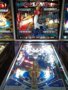 Pinball HOF Capt. Fantastic machine