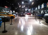 More cars on display